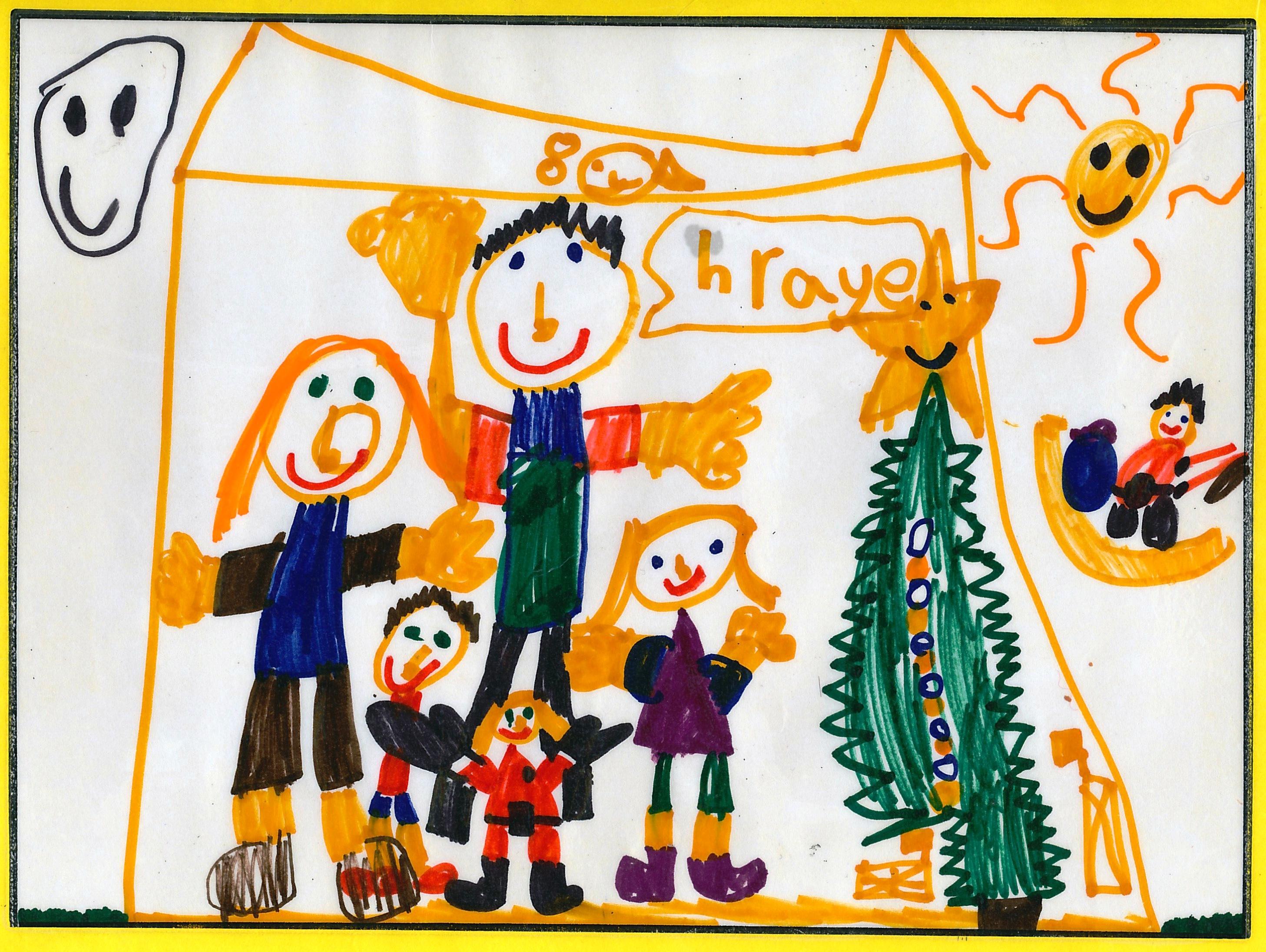 Family Christmas 2009 - by Josephine